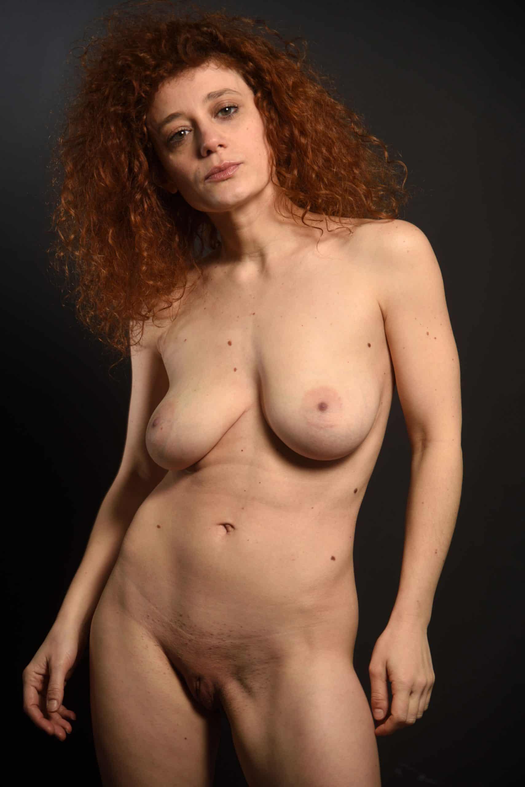 busty woman