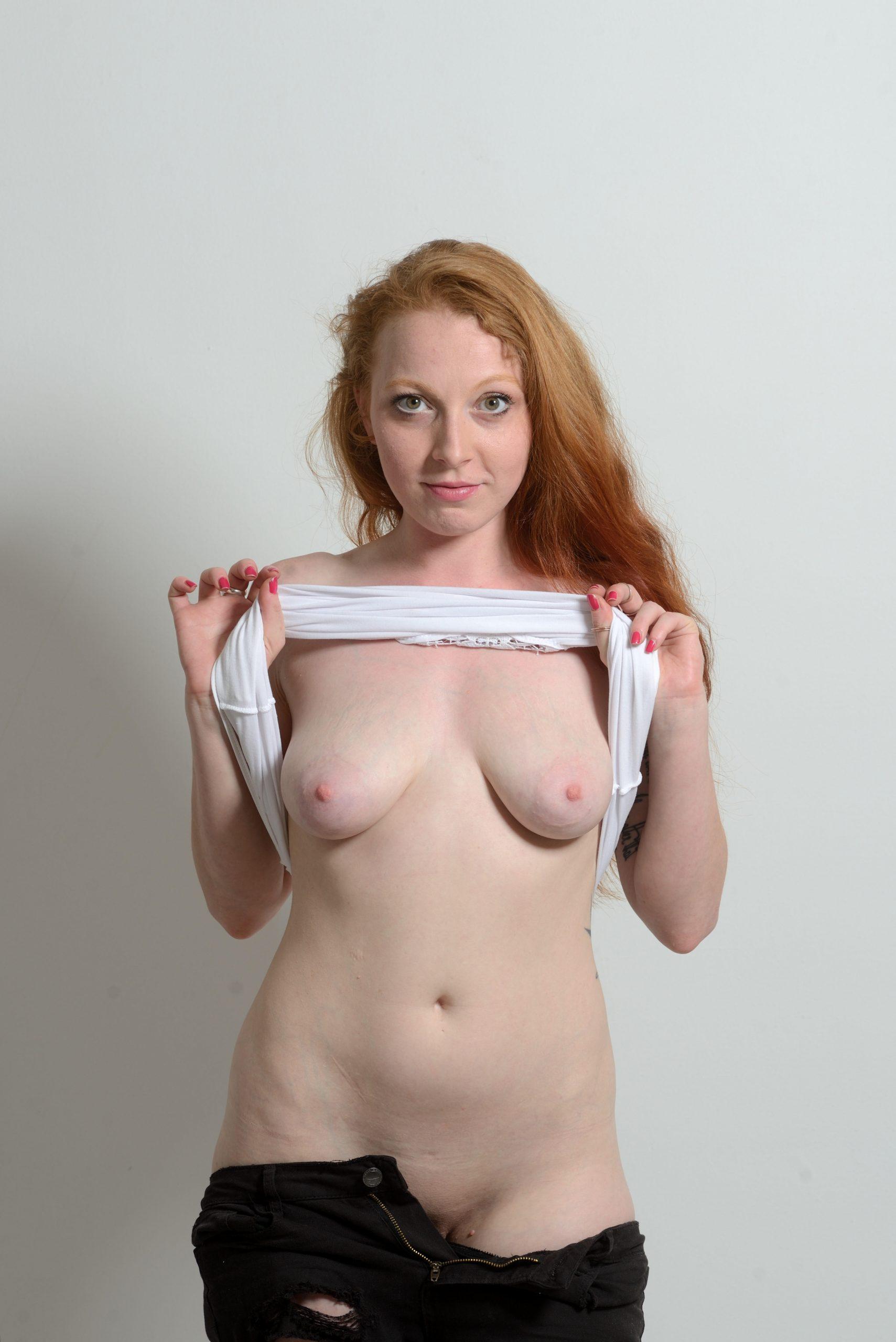 flat tits