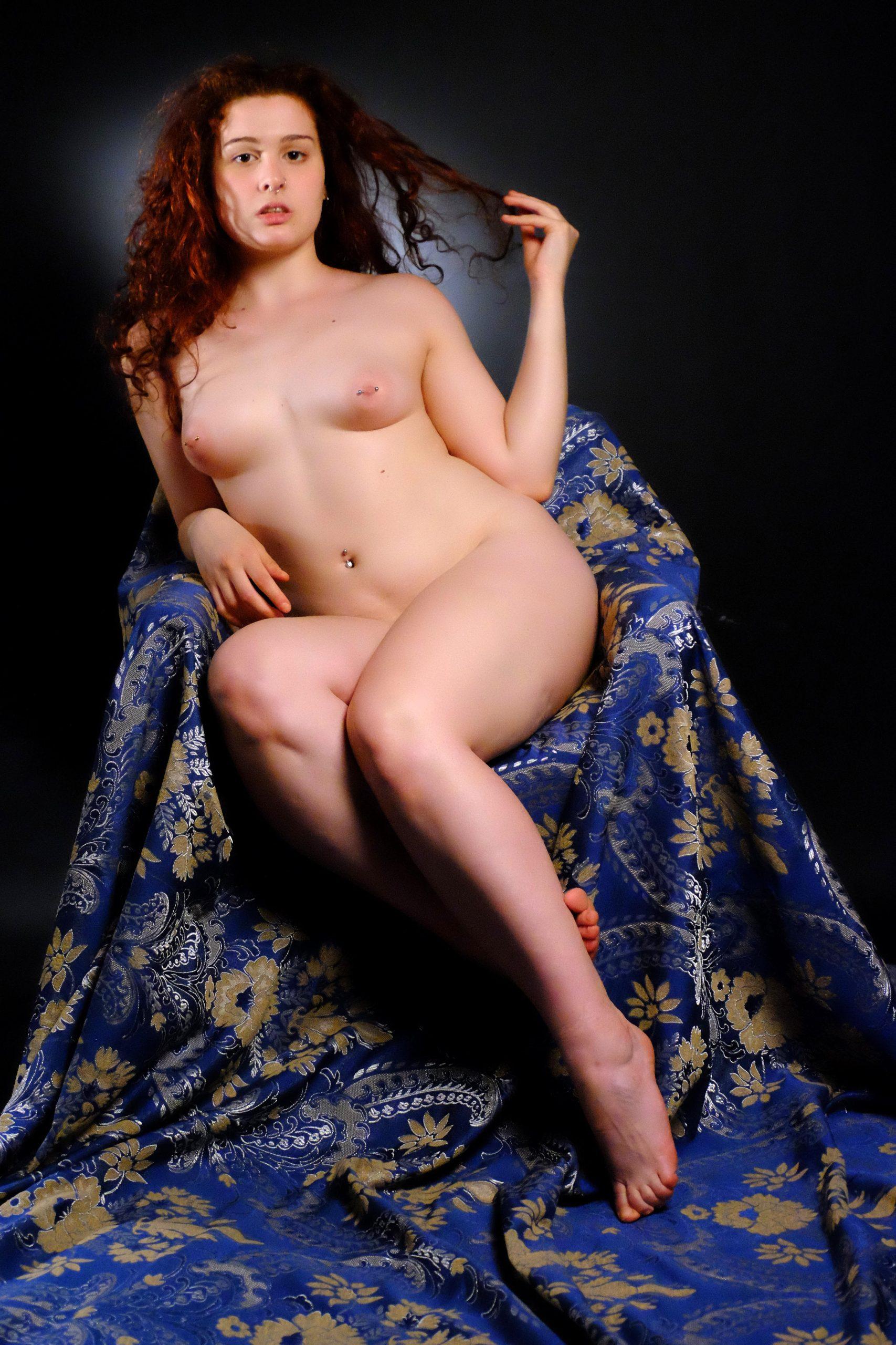 Luisa Mazzanti nuda