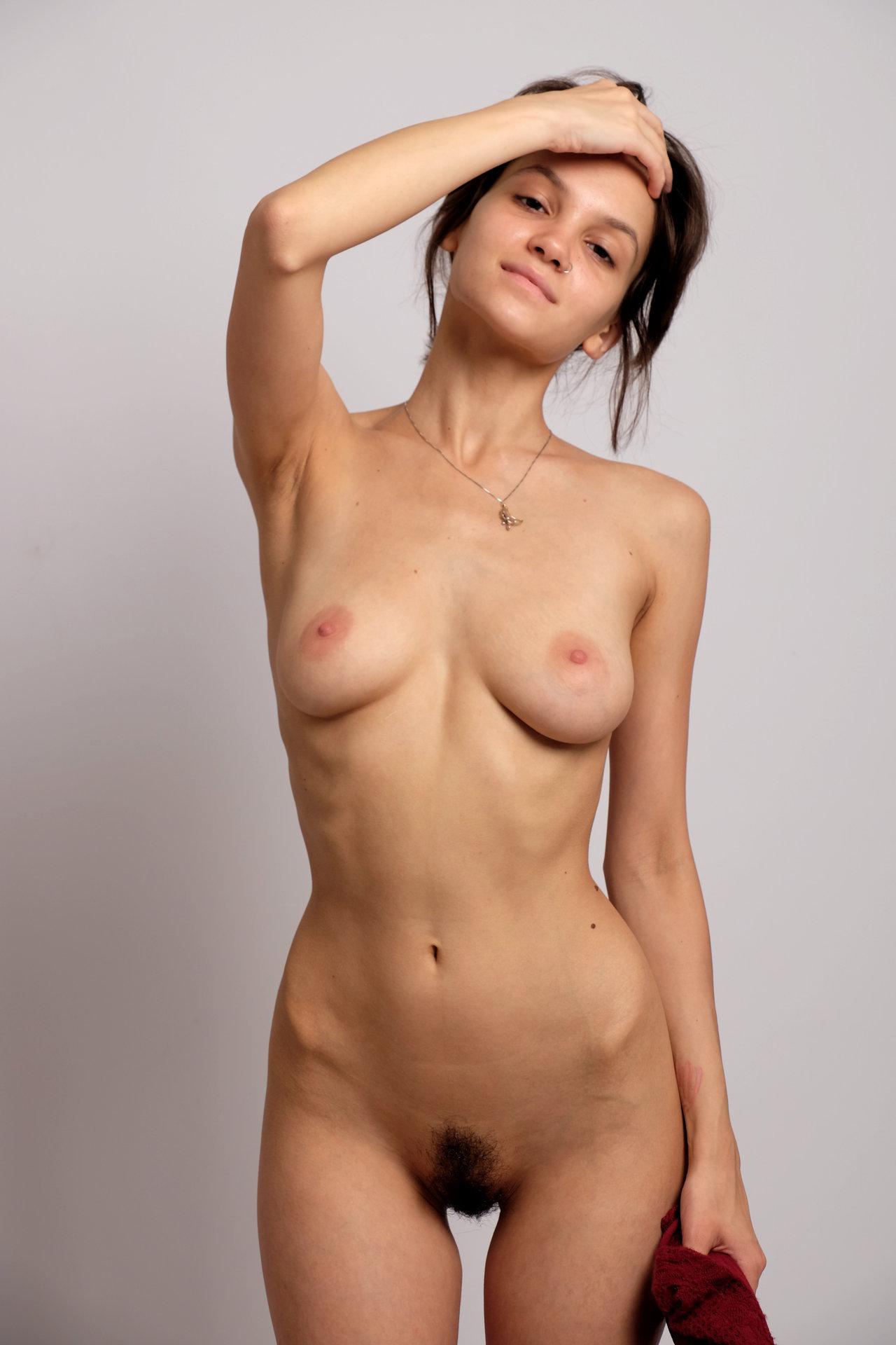 Maria Demina fully nude